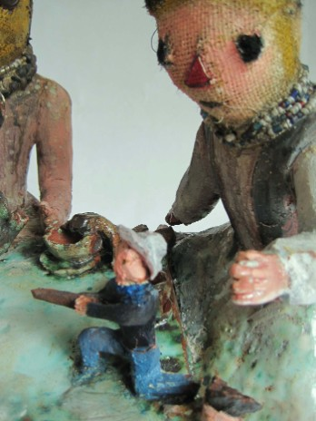 the tea party (detail) by kerry jameson